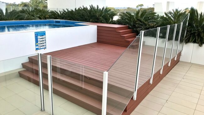 deck after restoration, stained wood painting Trends Currumbin